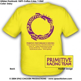 T-shirt MED Yellow PRT