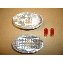 Oval JDM fender side marker lights