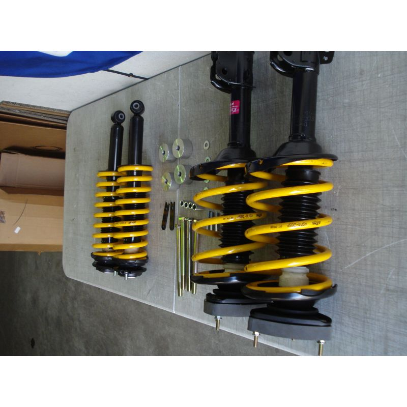 2012 Subaru Outback Suspension: Fully Assembled Rear Struts 2008+ Impreza, 2009+ Forester