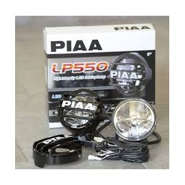 "PIAA LP 550 5"" Round LED Lamp Kit"