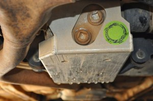 Hamish's Well Used Rear Diff Cover from PRIMITIVE