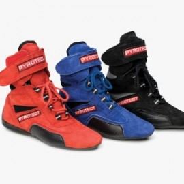 Ankle Top Racing Shoes -nomex/leather