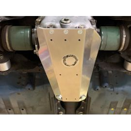 """1/4"""" Up-Armor Option Mini Rear Differential Cover with up-turned lips"""