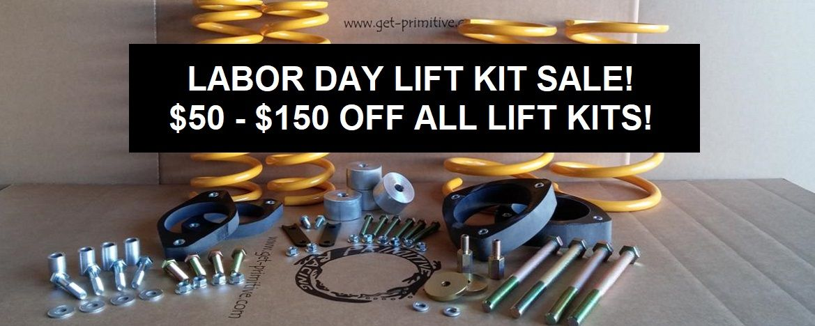 LABOR DAY LIFT KIT SALE 2